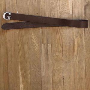 Vintage Leather Guess Belt